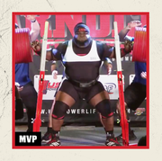 ray williams at powerlifting competition