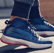 Footwear, Shoe, White, Blue, Street fashion, Ankle, Sneakers, Font, Plimsoll shoe, Brand,