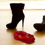 panties on floor