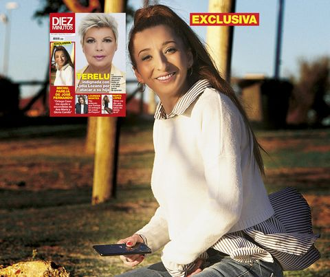 michu, la novia de josé fernando, habla de ortega cano y gloria camila en la portada de diez minutos