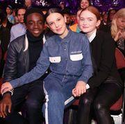 Millie Bobby Brown in Calvin Klein