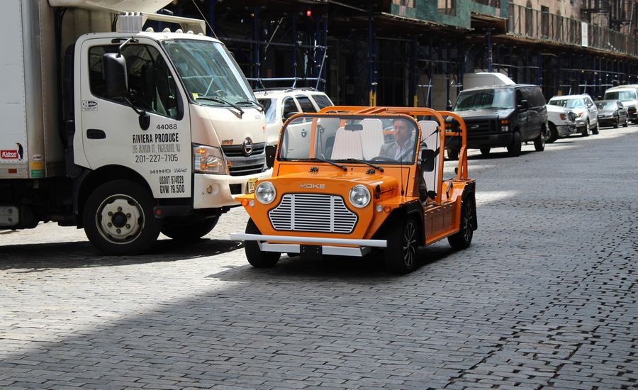 The Moke America Emoke Is A Resort Casual Ev