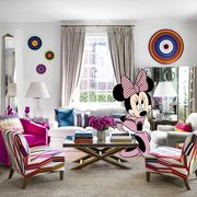 minnie mouse dream house living room