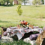 outdoor garden dining