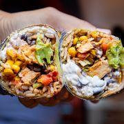 Dish, Food, Cuisine, Burrito, Ingredient, Mission burrito, Comfort food, Produce, Recipe, Vegan nutrition,