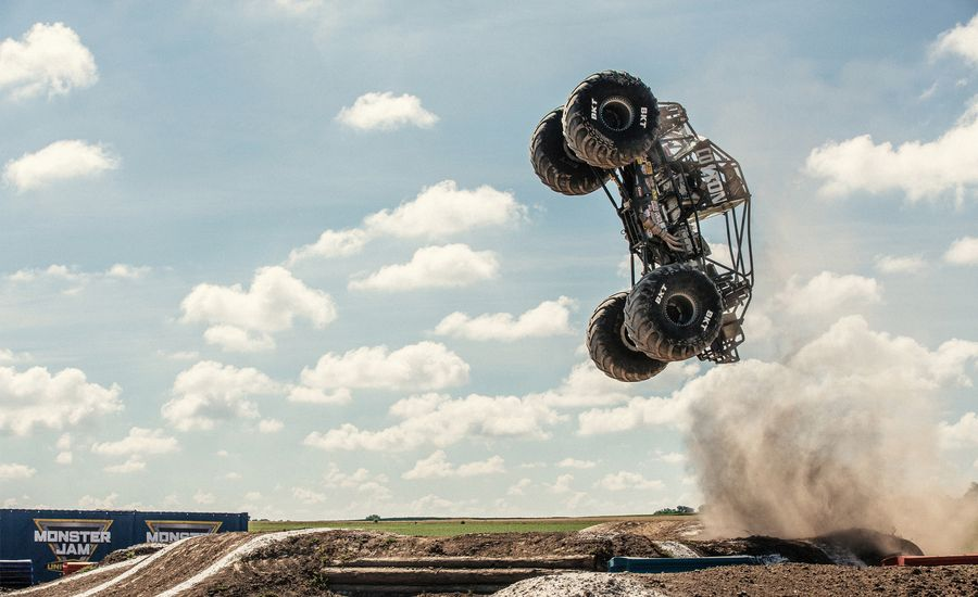 I Went to Monster Jam University to Learn How to Get Big Air in 1500-HP Trucks