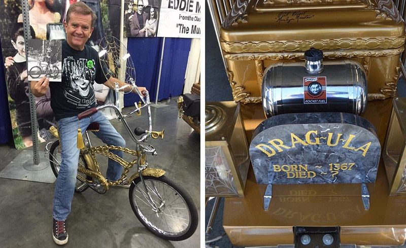 You Can Buy Eddie Munster's Custom Schwinn Stingray and Drag-U-la Replica