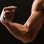 muscular build