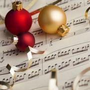 musical score christmas