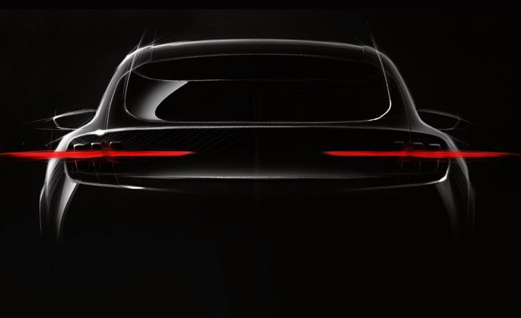 Ford's New Electric Crossover Steals the Mustang's Rear End