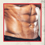 male pecs and abs