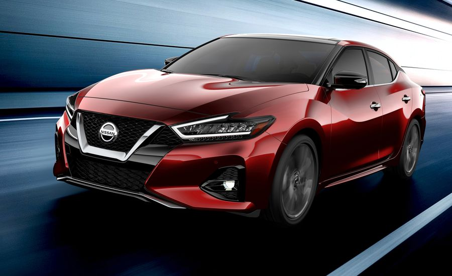 The 2019 Nissan Maxima Is Getting a New Look