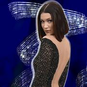 Clothing, Fashion model, Dress, Fashion, Shoulder, Model, Electric blue, Formal wear, Performance, Neck,