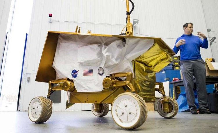 NASA Has Abandoned Its New Lunar Rover after Spending $100 Million