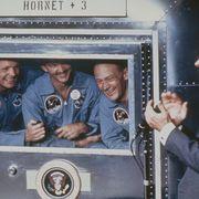 President Nixon And The Apollo 11 Crew