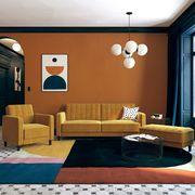 nia velvet sleeper sofa