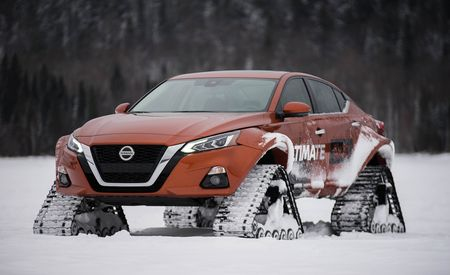 The Nissan Altima-te AWD Concept Is the Ultimate Off-Road Sedan