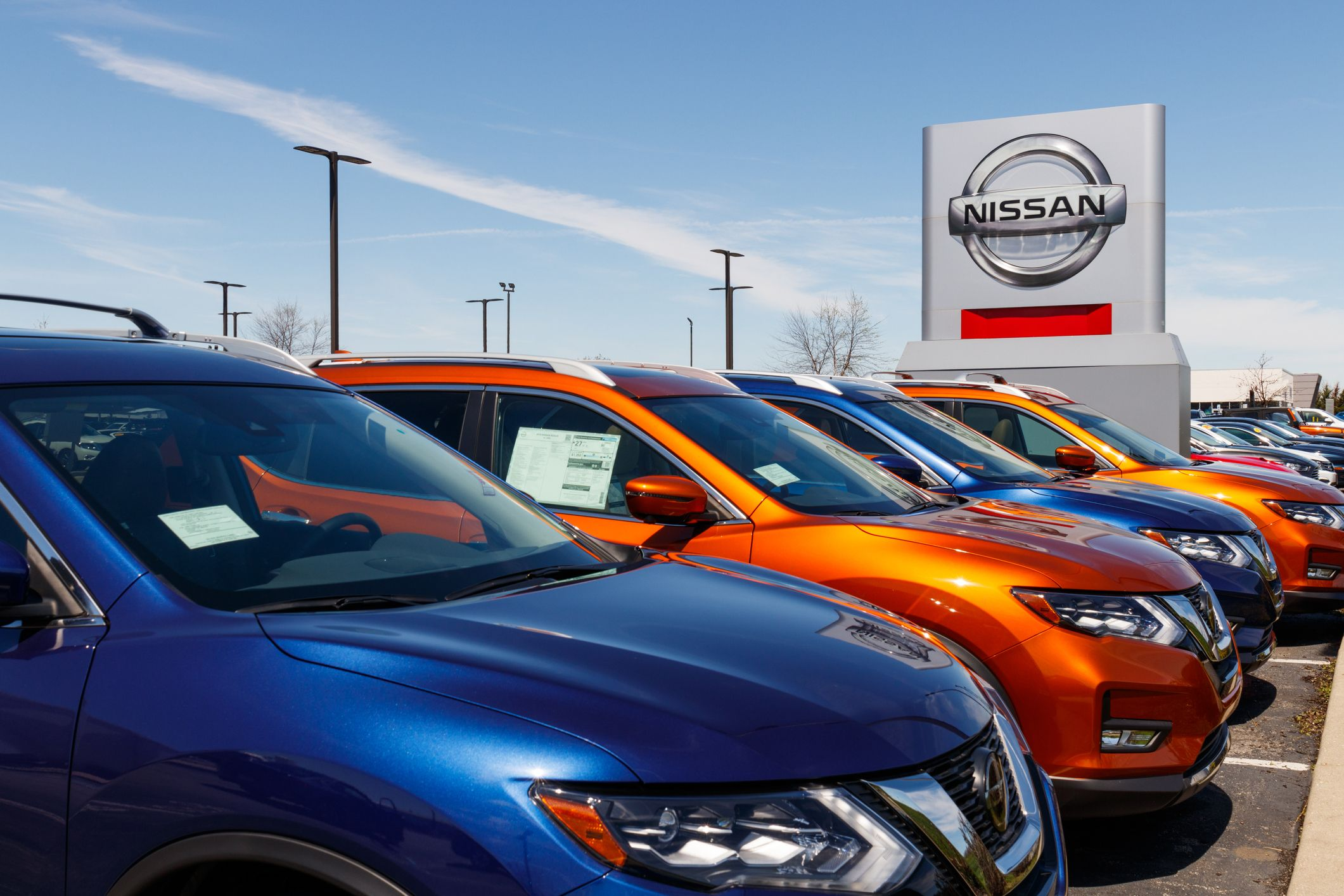 Nissan car and suv dealership nissan is part of the royalty free image 1590177540