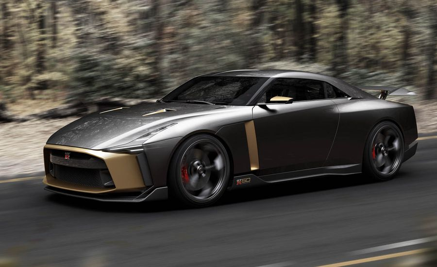 Nissan and Italdesign Create the 710-HP Nissan GT-R50