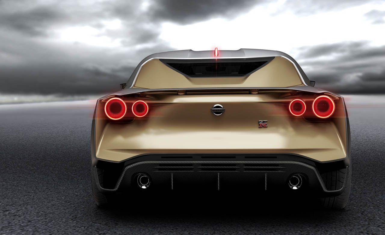 710 Hp Nissan Gt R50 By Italdesign News Car And Driver Gtr R35 Sketch