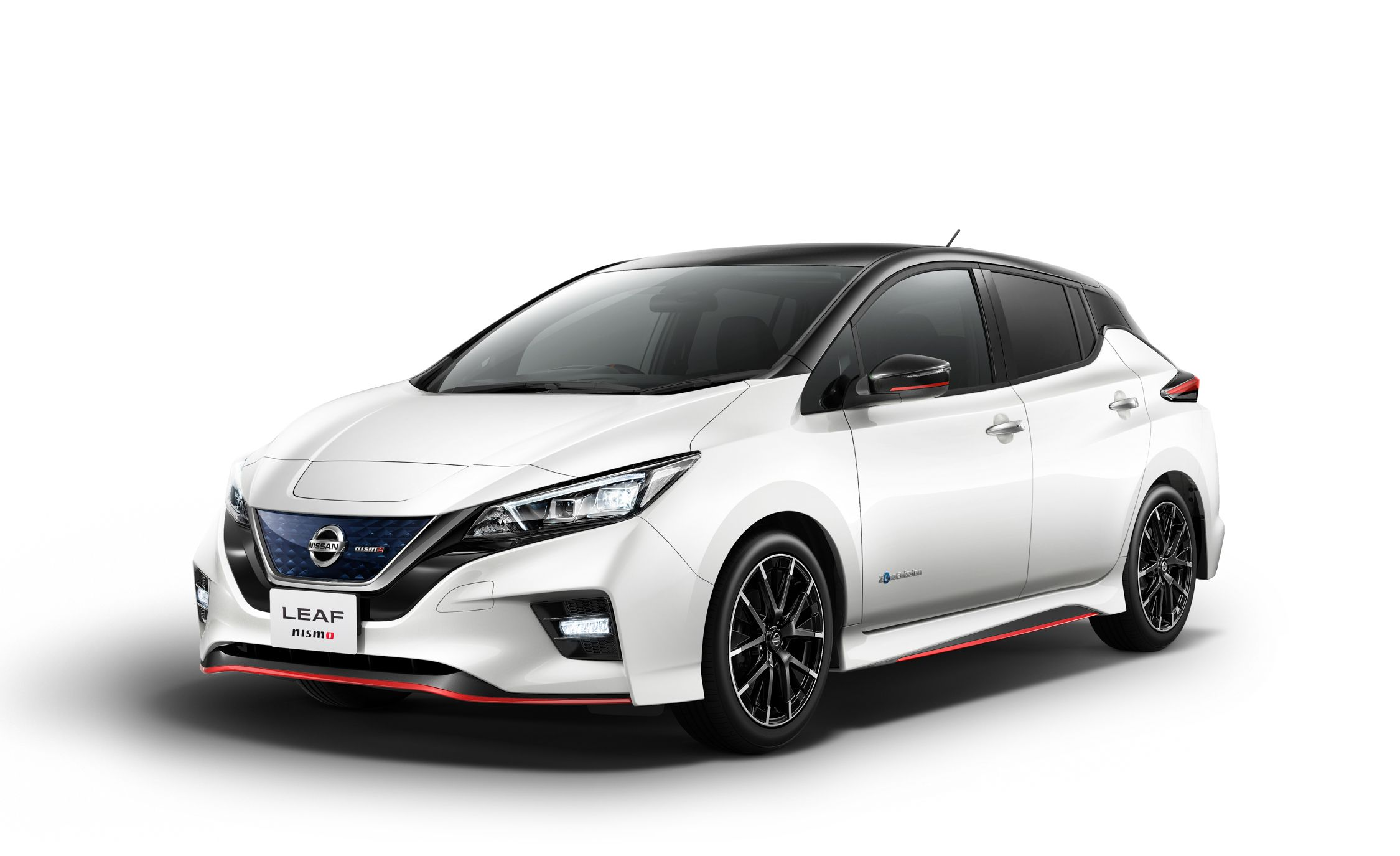 Nissan Leaf NISMO Adds Sporty Style, Though Not Much Actual Sportiness