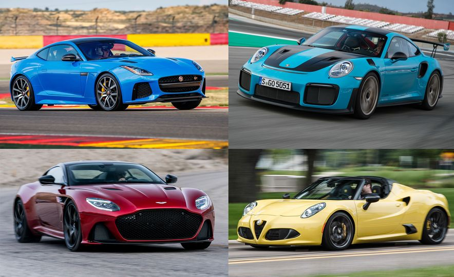 Every Sports Car You Can Buy That Doesn't Offer a Manual Transmission - Slide 1