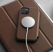 nomad magsafe folio iphone case on top of ipad