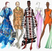 Fashion illustration, Clothing, Fashion design, Costume design, Victorian fashion, Fashion, Dress, Day dress, Pattern, Fashion model,
