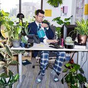 billy eichner desk plants