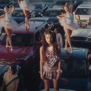 olivia rodrigo in brutal music video