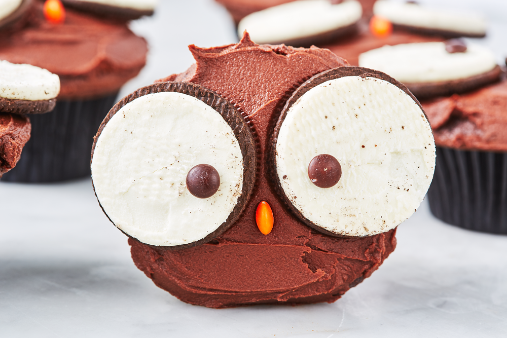 Owl Cupcakes Are *The* Cutest Way Ever To Use Oreos