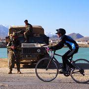 afghan women cyclists