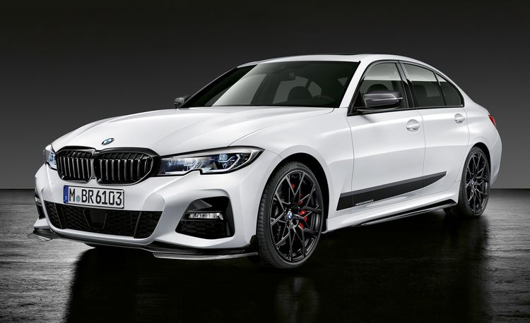 BMW Shows Off M Performance Parts for the New 2019 3-series