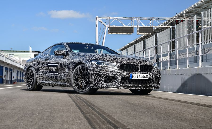 The 2020 BMW M8 Coupe Will Be a 600-Plus-HP Beast