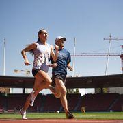 Sports, Sport venue, Sky, Running, Recreation, Athlete, Sports training, Stadium, Championship, Athletics,