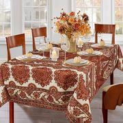 paisley tablecloth
