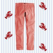Clothing, Trousers, Textile, Jeans, Peach, Font, Pajamas, Active pants, Pattern,