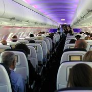 first flights of virgin america  lax to sfo
