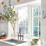 Room, Countertop, Property, Interior design, Furniture, Sink, Bathroom, House, Kitchen, Tap,