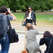 Fashion, Street fashion, Tourism, Walking, Jeans, Photography, Gesture, Jacket,