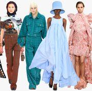 Fashion model, Fashion, Clothing, Fashion design, Haute couture, Runway, Dress, Fashion show, Textile, Fashion designer,