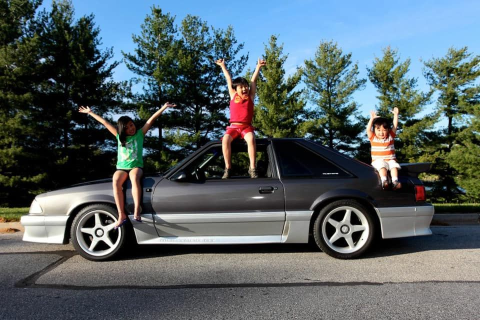 Kids who came to consider the Mustang a sibling.
