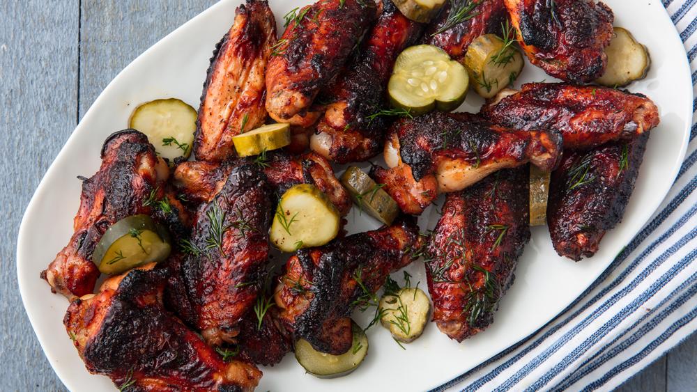 Pickleback Chicken Wings