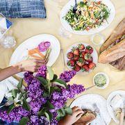 sunday funday with ashley rodriguez backyard family picnic