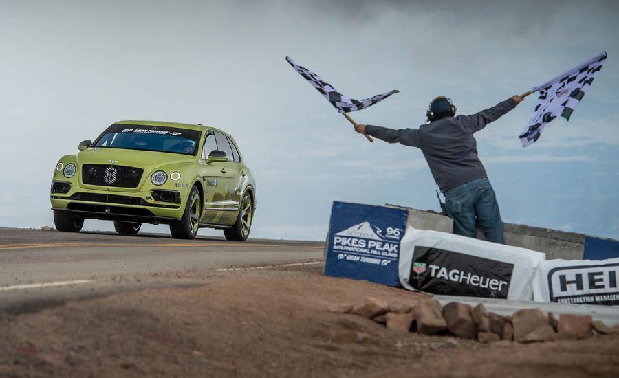 Hail Zebulon! Bentley to Offer Limited Pikes Peak Bentayga