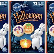 pillsbury ready to bake 72 count halloween pumpkin and ghost sugar cookie dough