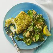pistachio-crusted fish