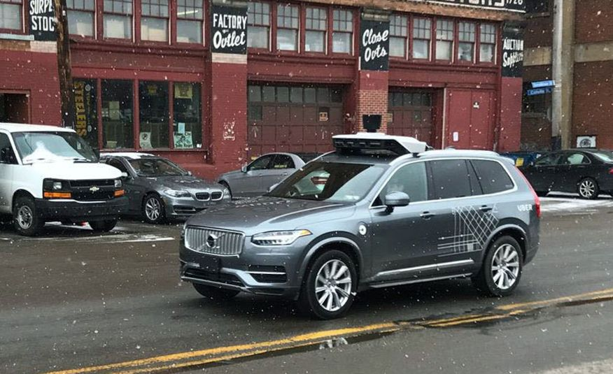 Uber Says It Will Resume Self-Driving Tests; Pittsburgh Is Peeved