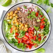 Dish, Food, Cuisine, Salad, Vegetable, Ingredient, Vegetarian food, Produce, Vegan nutrition, Lunch,