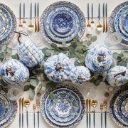 Blue and white porcelain, Porcelain, Blue, Dishware, Ceramic, Plate, Tableware, Pattern, World, Dinnerware set,
